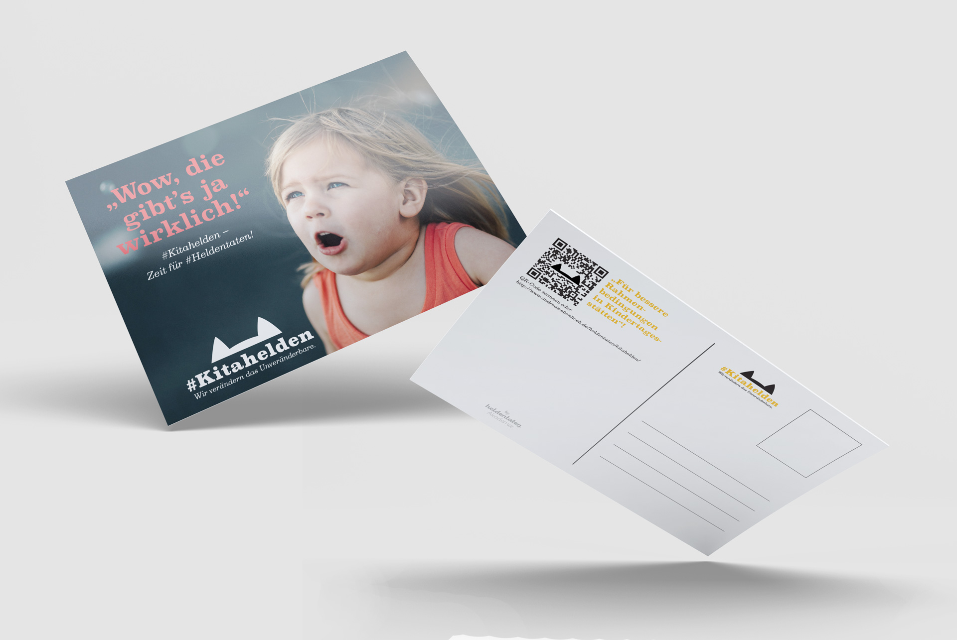 heldentaten Akademie Postkarte